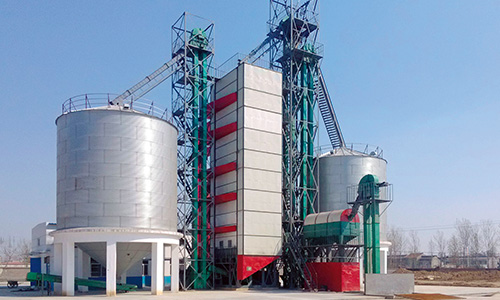 COFCO Jiaozuo Grain Depot 300t/d drying project